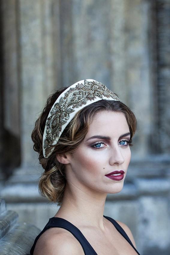 Corona tiara novia especial