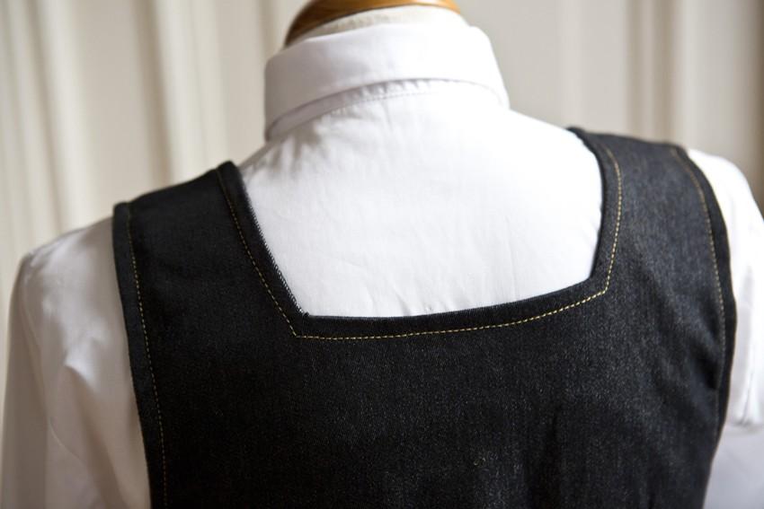 Detalle espalda uniforme